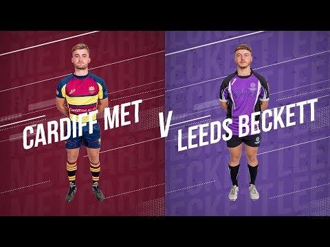 LIVE BUCS SUPER RUGBY 19/20 | Cardiff Met V Leeds Beckett