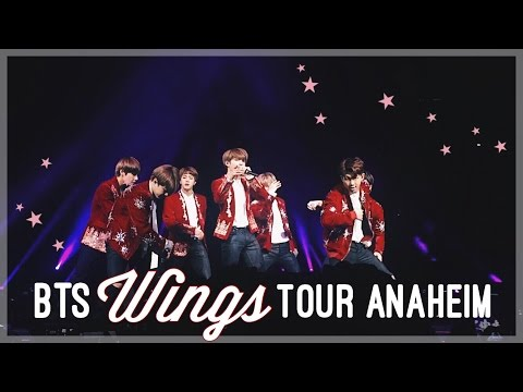 What It's Like Seeing BTS Live | Wings Tour Concert Experience [Anaheim]