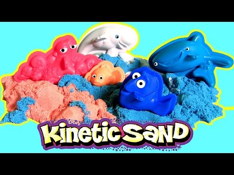 Kinetic Sand Dory's Adventure Disney Finding Dory Hank Nemo by Funtoyscollector Disney Toy Review