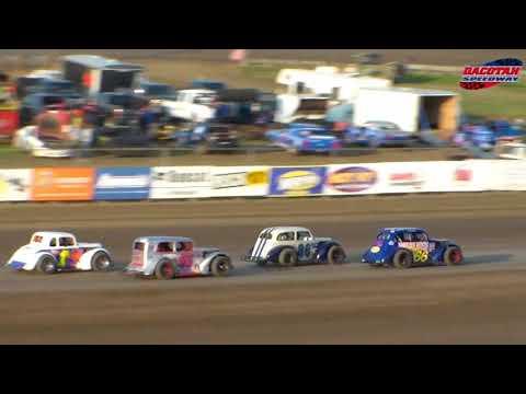 Dacotah Speedway INEX Legends Heats (8/24/18)