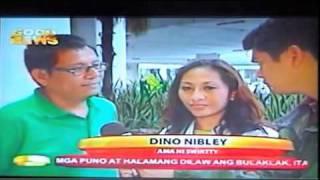 alaDINO NIBLEY  and  SWIRTTY NIBLEY  @ 24 ORAS GMA7