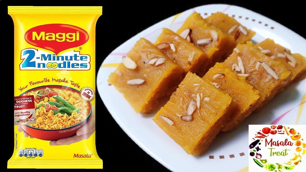 1 Maggi 1 மாம்பழம் போதும் சூப்பரான அல்வா ரெடி- புதிய ஸ்வீட் செய்து பாருங்கள் - Sweet recipe in Tamil