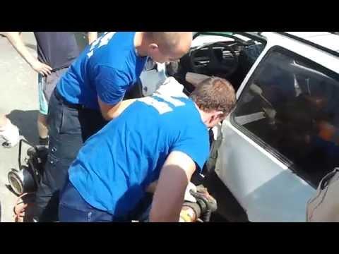 ДТП на Панинском мосту в Вязьме. 01-06-2013г. в 11:50