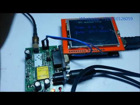 GPS Clock With TFT and Arduino: 11 Steps