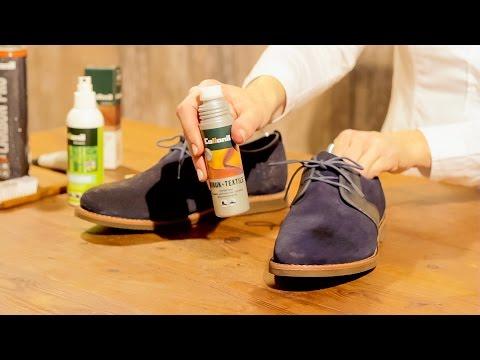 Wie putzt man Schuhe aus Wildleder und Glattleder