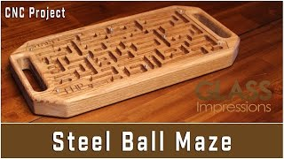 Steel Ball Maze | CNC Project