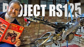 PART 3: My Lockdown Project - Rebuilding A Classic Aprilia RS125 Two Stroke 1999
