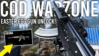 Call of Duty Warzone - Unlocking the ENIGMA Easter Egg Gun!