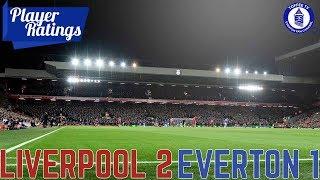 Liverpool 2-1 Everton | EFC Player Ratings