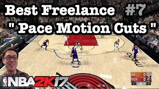 nba 2k17 tips best freelance offense tutorial how to break defense pace motion 2k17 tutorial 7