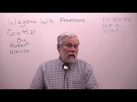 Robert Warren: Missionary with Wagons with Provisions