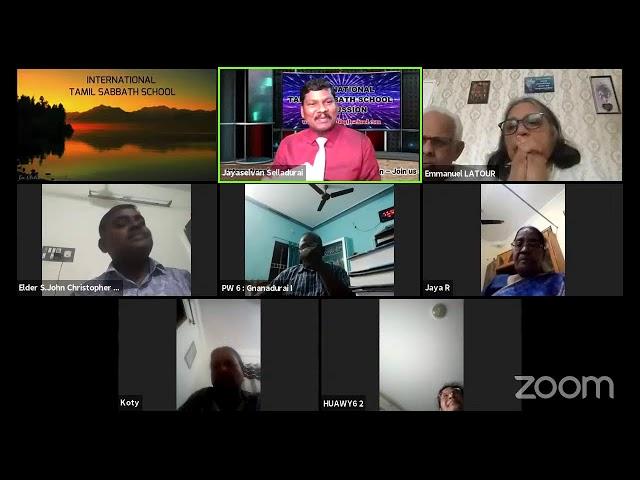13 OCT 21–Qtr.4 PRESENT TRUTH in Deuteronomy-LS-3:அவருடைய விசேஷித்த ஜனங்கள் Eld S. John Christopher