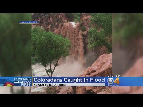 'We Worked Together': Coloradans Caught In Havasu Falls Flash Flood
