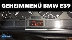 Geheimmenü freischalten BMW E39 kleiner BC / kein BC