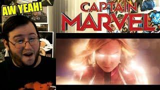 """Gors """"CAPTAIN MARVEL"""" Official Trailer REACTION (MAHVEL, BABY!)"""