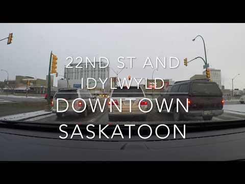 Driving Saskatoon