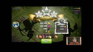 CLASH OF CLANS THE BEST Th 7/8/9 Raiding army and Raid Demo!
