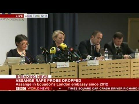 Sweden Drops ALL Charges Against Jullian Assange!