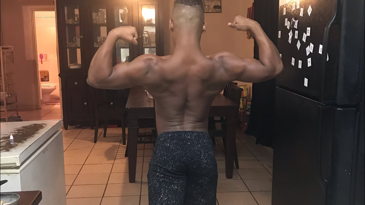 Amazing ripped 15 year old bodybuilder shredded muscle