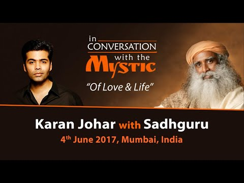 Karan Johar In Conversation with Sadhguru - Live from Mumbai