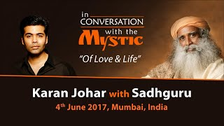 Karan Johar In Conversation with Sadhguru - Live from Mumbai - June 4, 2017