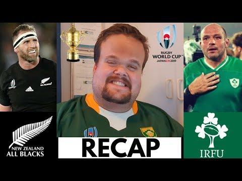 All Blacks vs Ireland RECAP | Rugby World Cup Quarter Final