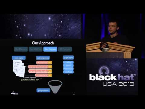 Black Hat USA 2013 - Just-In-Time Code Reuse: The more things change, the more they stay the same