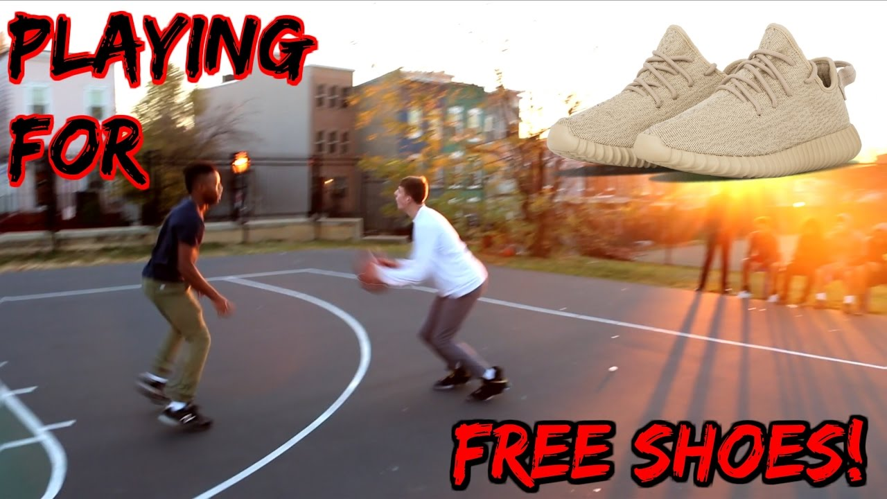 playing-basketball-for-free-shoes