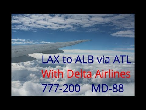 Trip Report: LAX to albany via Atlanta on Delta Airlines