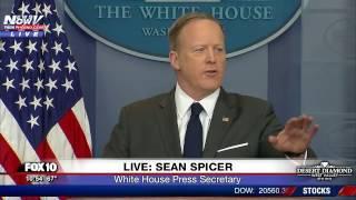 FNN: Sean Spicer Daily White House Briefing 3/27/17