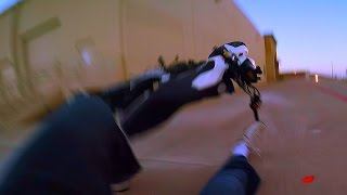 Honda Grom Wheelie Crash MSX125