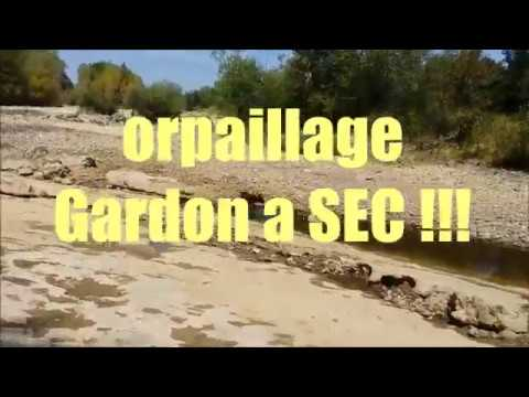 Orpaillage - Gardon a sec !!!