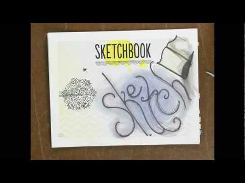 Amy Tangerine -  New Sketchbook Collection By American Crafts