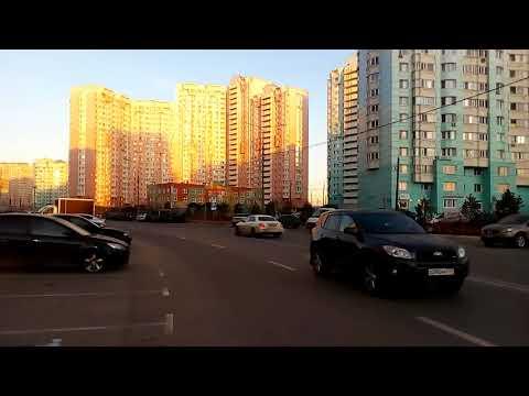 Красногорск 1352 Красногорский бульвар, Павшинская пойма, вид на правительство области осень день