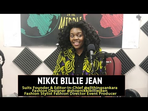 All Things Ankara: Nikki Billie Jean Talks Ankara Print Fashion, Pop-Up Shops, Jidenna Photo Shoot