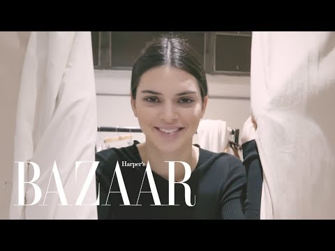 Behind the Scenes of Kendall Jenner's Bazaar Cover Shoot | The Last Five | Harpers BAZAAR