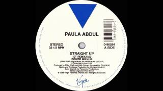 "Straight Up (12"" Remix) - Paula Abdul"