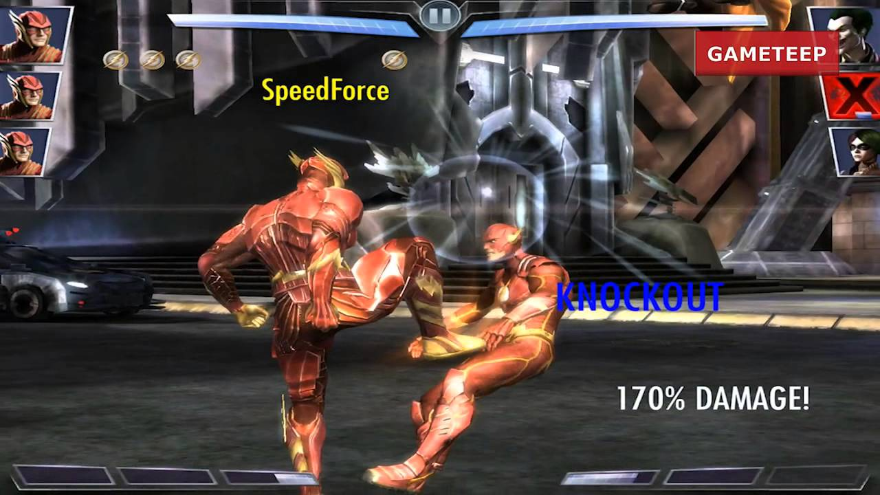 Injustice: Regime The Flash Attack & Moves [REMASTERED ...