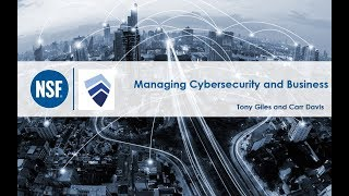 Managing Cyber Security and Business Risk
