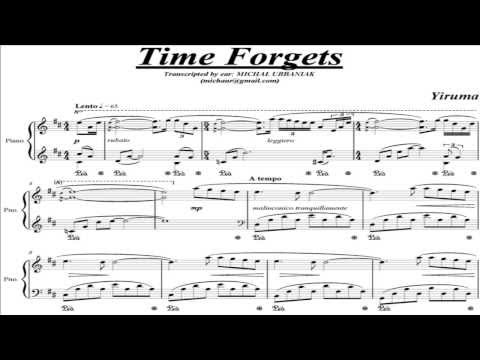 Yiruma - Time Forgets (piano score)