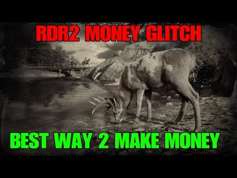 RED DEAD REDEMPTION 2 NEW ONLINE MONEY GLITCH (MAKE MONEY FAST, LEVEL UP AND UNLOCK AWARDS)