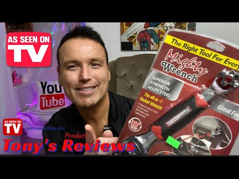 Mighty/Tiger Wrench Review - Testing As Seen On TV Products