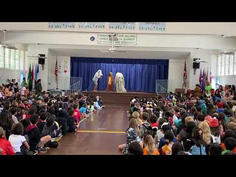 Haha'ione Elementary School Halloween Staff Costume Contest 2019 - Lion King