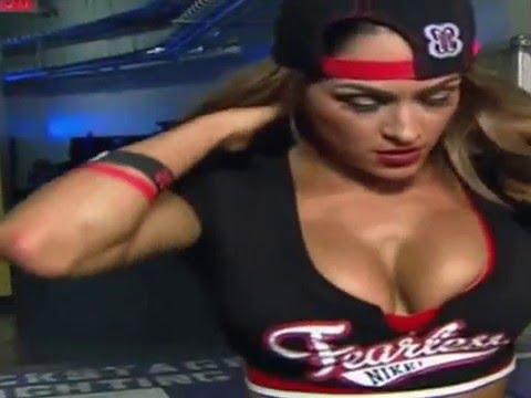 WWE NIKKI BELLA BIG BOOBS COMPILATION #1 thumbnail