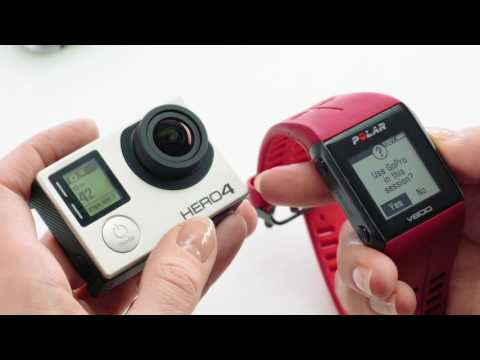Polar V800 | Remote Controlling GoPro HERO4 Silver and Black / HERO5 Black and Session
