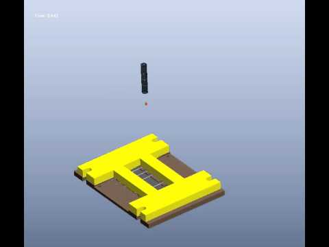 Mechanical Impact Test Using ProE Mechanism
