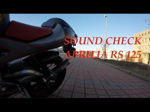 Sound Check Giannelli Aprilia Rs 125