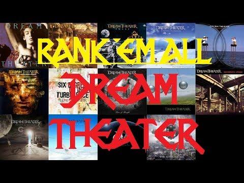 RANK 'EM ALL - Dream Theater