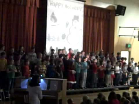 Maplewood Elementary 4th Grade Holiday Song