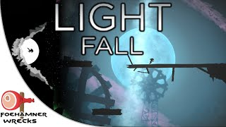 Light Fall - Gameplay Playthrough - wall jumping and box...bumping